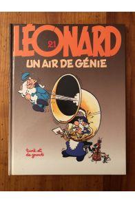 Léonard tome 21, Un air de génie