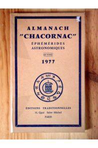 Almanch Chacornac - Ephémérides astronomiques 44ème année 1977