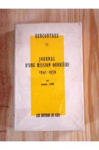 Journal d'une mission ouvrière 1941-1959