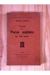 Essai sur la poésie anglaise du XIXème siècle