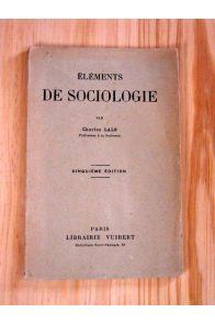 Eléments de sociologie
