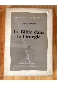 La bible dans la lithurgie