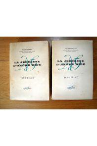 La jeunesse d'André Gide Tome 1 et 2