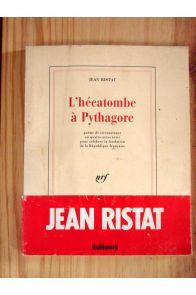 L'hécatombe à Pythagore, poème de circonstance en quatre actes écrit pour célébrer la fondation de la République française.