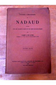 Pages choisies de Nadaud