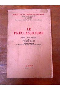 Le Préclassicisme