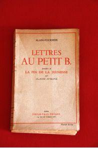 Lettres au petit B précédés de La fin de la jeunesse par Claude Aveline