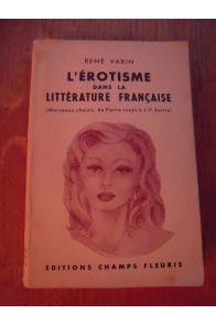 L'érotisme dans la littérature française