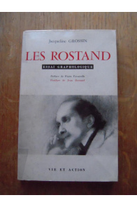 Les Rostand Essai Graphologique
