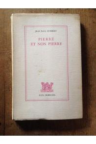 Pierre et Non pierre