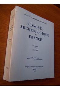 Congrès archéologique de France 133ème session 1975 Velay