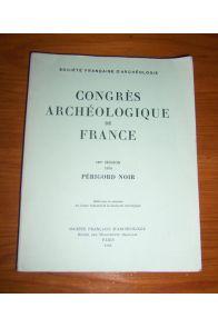 Congrès archéologique de France 137ème session 1979 Périgord noir