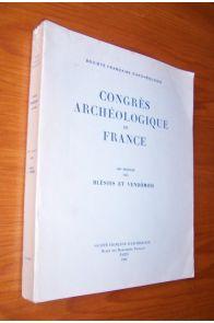 Congrès archéologique de France 139ème session 1981 Blésois et Vendômois