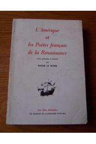 L'Amérique et les poètes français de la Renaissance