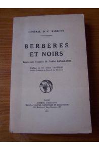 Berbères et noirs