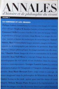 Annales d'histoire et philosophie du vivant, numéro 3