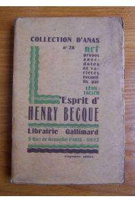 L'esprit d'Henry Becque
