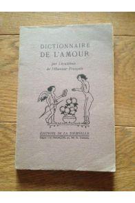 Dictionnaire de l'amour
