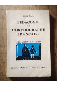 Pédagogie de l'orthographe française