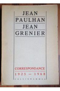Correspondance 1925-1968