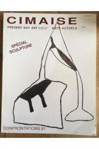 Cimaise n° 215 de novembre décembre 1991 : Spécial sculpture / Confrontations 91