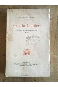 Vers la lumière, Journal, Correspondance Mort