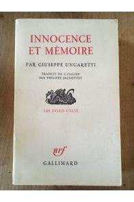 Innocence et mémoire