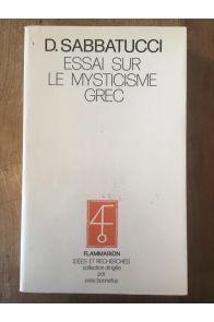 Essai sur le mysticisme grec