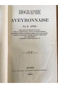 Biographie aveyronnaise