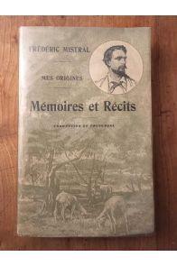 Mes origines, mémoires et récits