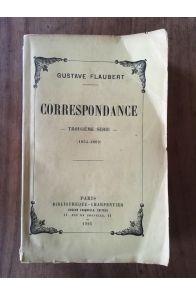 Corrspondance Troisième Série (1854-1869)