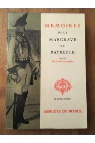 Mémoires de la Margrave de Bayreuth