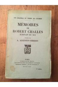 Mémoires de Robert Charles, écrivain du roi