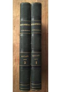 La Pharsale de M. A. Lucain (2 volumes)