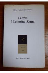 Lettres à Léontine Zanta
