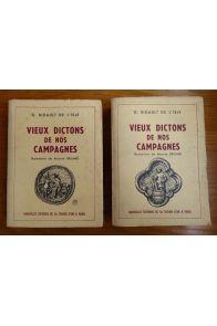 Vieux dictons de nos campagnes (2 tomes)