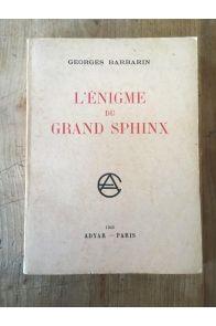 L'énigme du Grand Sphinx