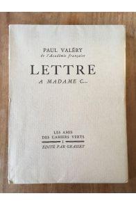 Lettres à madame C...