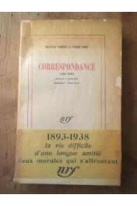 Correspondance 1893-1938