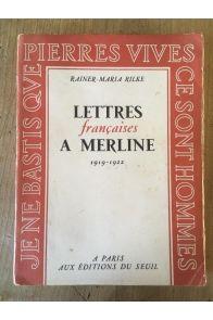 Lettres françaises à Merline 1919-1922