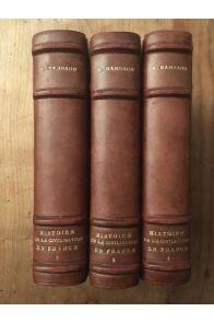 Histoire de la Civilisation française (3 vol)