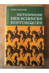 Dictionnaire des sciences historiques