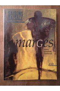 Saisons d'alsace n° 131 - Marges Villes, quartiers, banlieues