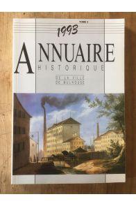 Annuaire historique de la ville de Mulhouse 1993