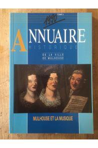 Annuaire historique de la ville de Mulhouse 1990