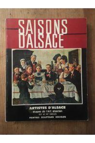 Saisons d'alsace n° 47 - Artistes d'Alsace