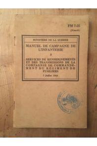 Manuel de campagne de l'infanterie