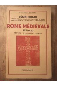 Rome médiévale 476-1420, Histoire, Civilisation, Vestiges