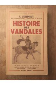 Histoire des Vandales