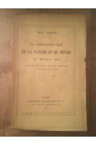 La connaissance de la nature et du monde au Moyen Âge